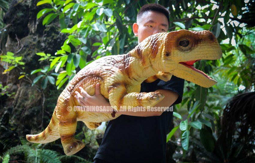 Realistic Baby Brachiosaurus Hand Puppet