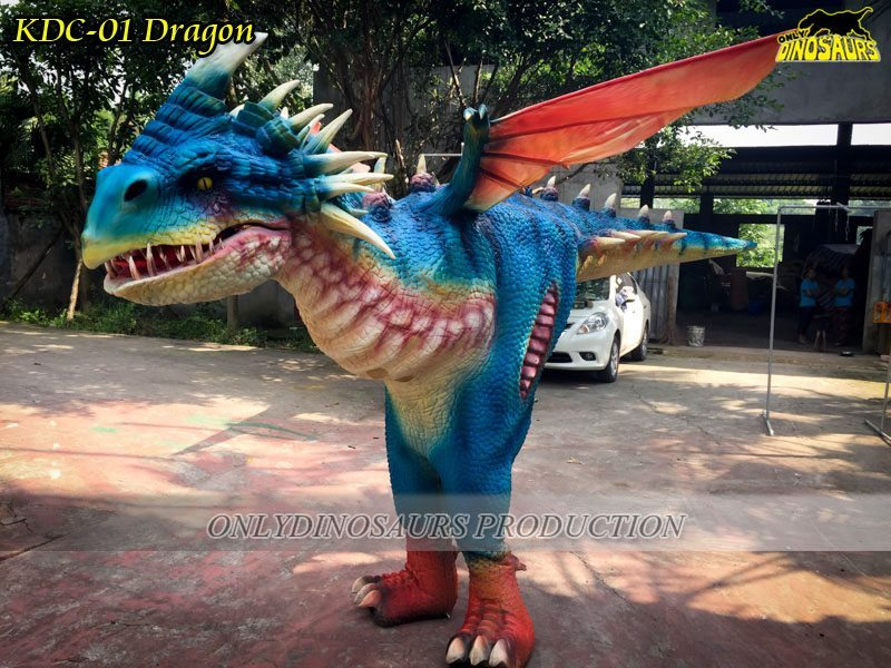 Nadder Realistic Dragon Costume is excellent exhibit