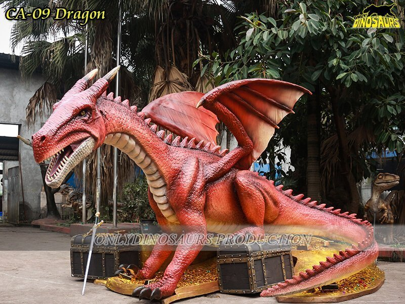 Custom Animatronics Dragon