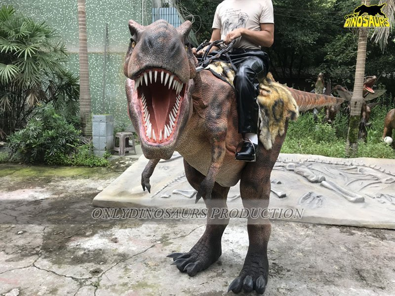 Realistic Riding T-Rex Costume Size-2