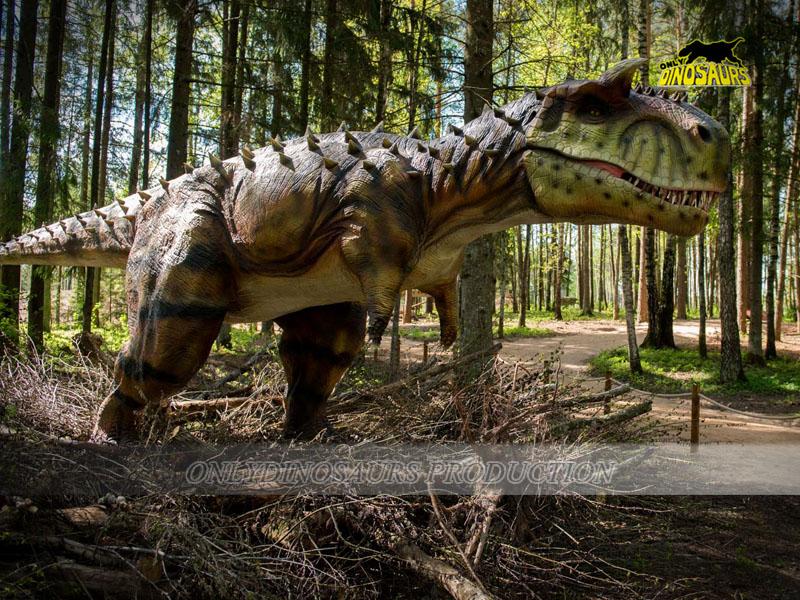 Animatronic Dinosaur in the Park