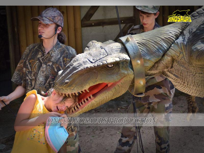 Robot Velociraptor Costume