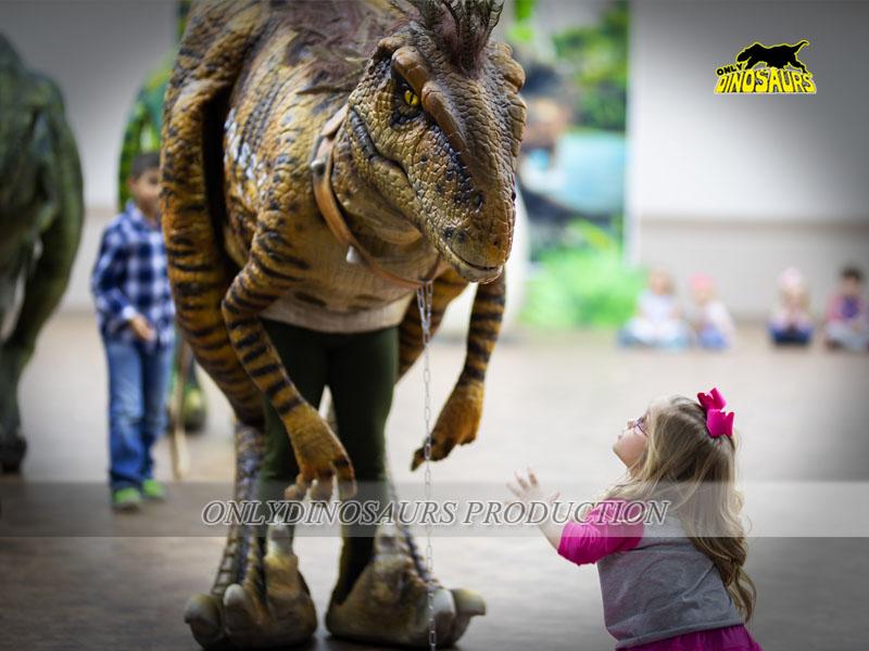 Realistic Robot Dinosaur Costume