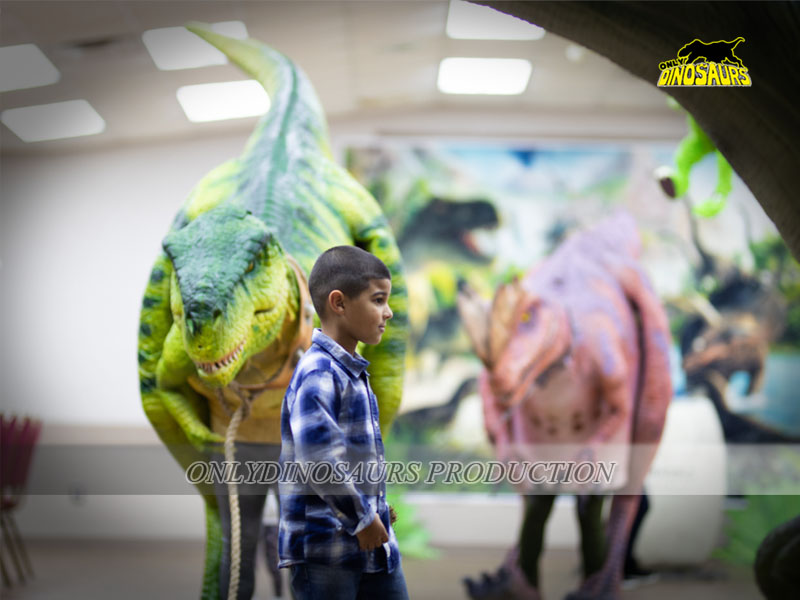 Robot Green T-Rex Costume