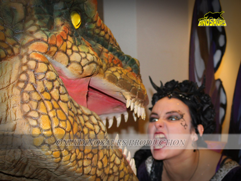 dinosaur cosplay costume