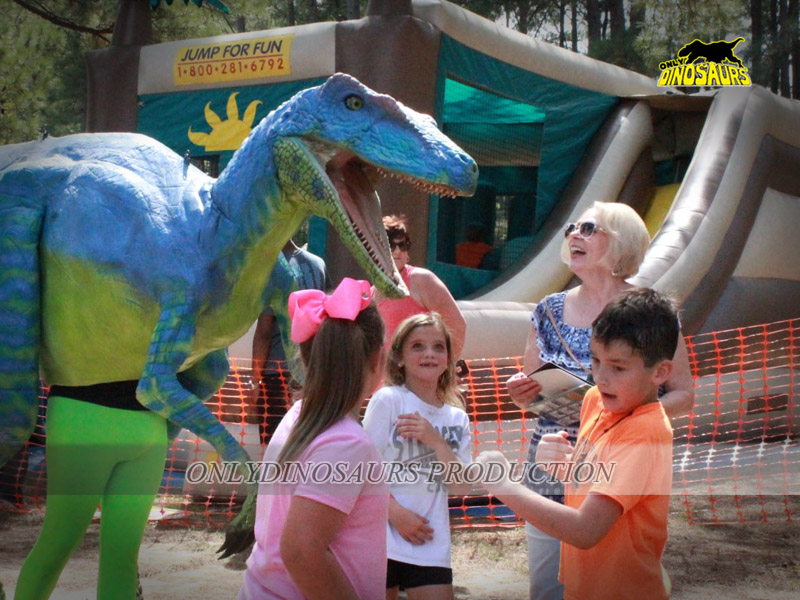 Dinosaur Costume Prank in the Playground