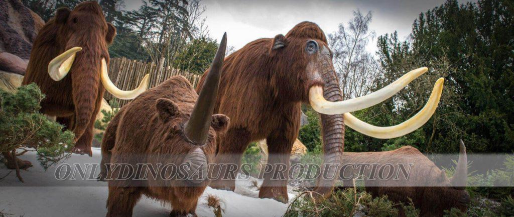 Ice Age Animals in WMSP