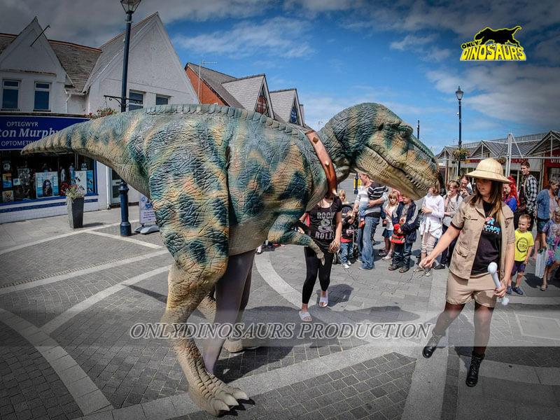 Realistic T-Rex Costume for Adults