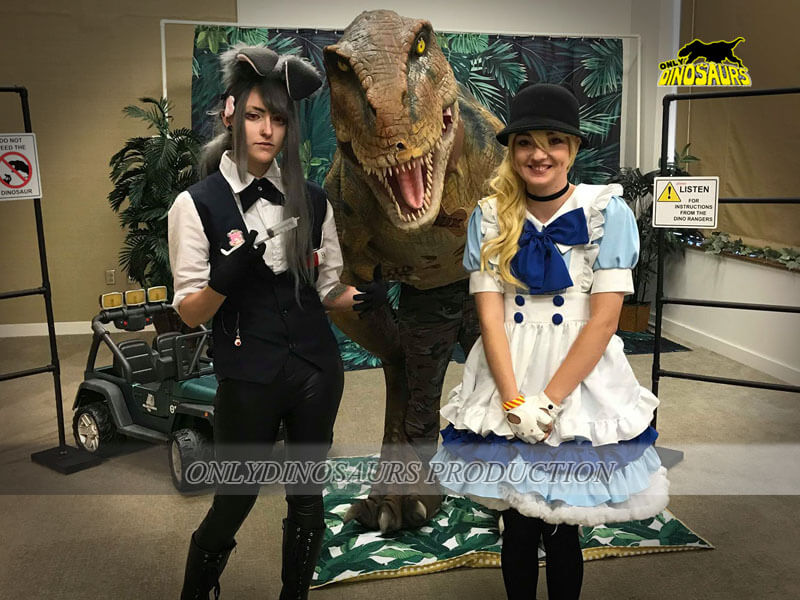 Realistic T-Rex Suit in Cosplay