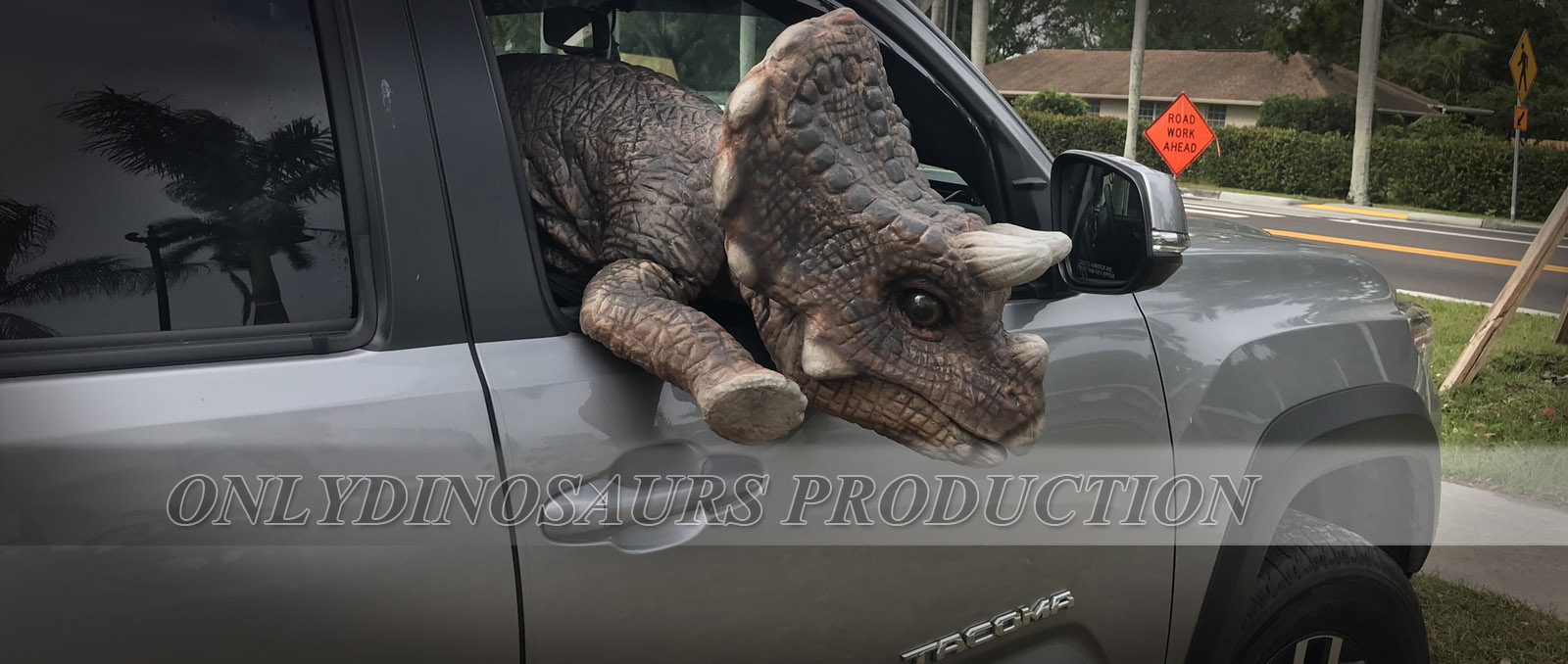 Triceratops Dinosaur Puppet