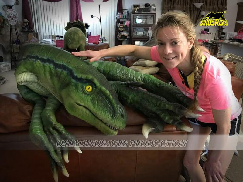 Velociraptor Shoulder Puppet