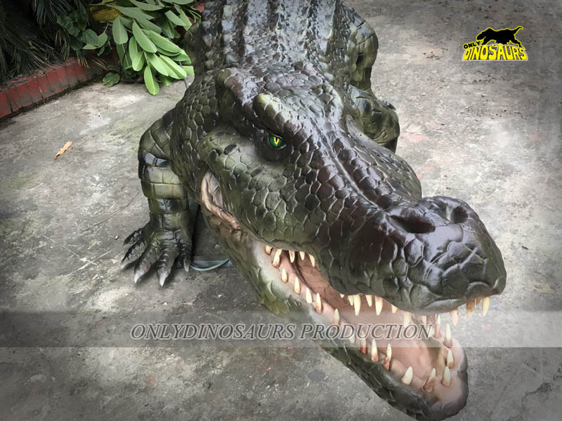Lifelike Crocodile