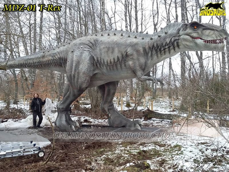 Outdoor Animatronic Dinosaur