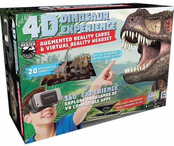VR 4D Dinosaur Experience