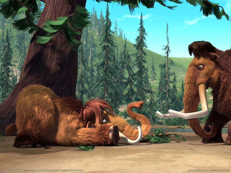 Ice Age Animals manny-the-mammooth