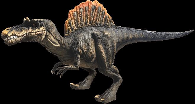 Spinosaurus on Menu