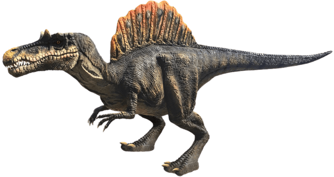 Realistic Spinosaurus on Menu