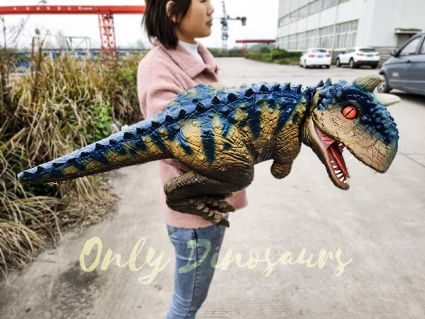 Arm Puppet Baby Dinosaur Cute Carnotaurus4 1
