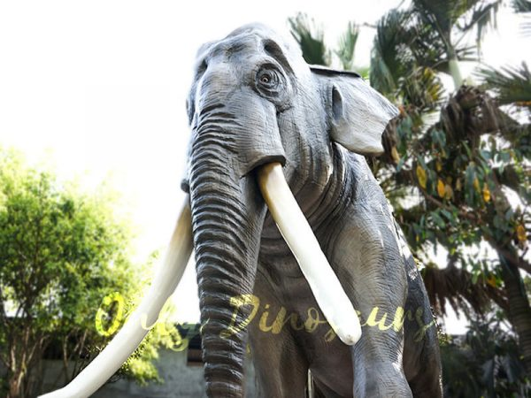 Artificial Animatronic Elephant Jungle Animal3 1