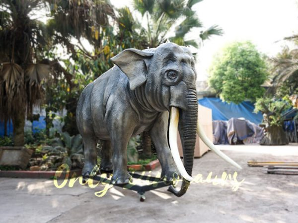 Artificial Animatronic Elephant Jungle Animal4