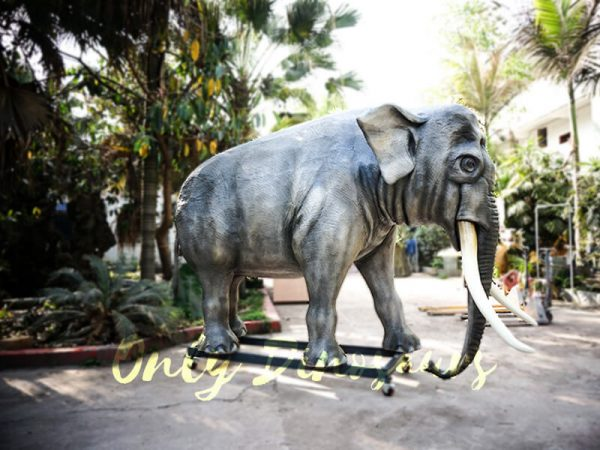 Artificial Animatronic Elephant Jungle Animal7