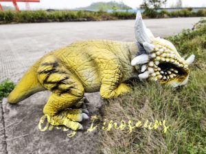 Baby Stygimoloch Puppet With Yellow Color