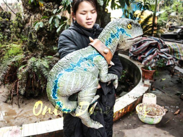 Baby Velociraptor Dinosaur Puppet for Kids6 1