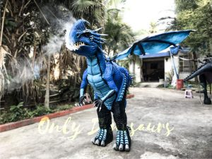 Blue Nadder Dragon Costume How to Train Your Dragon