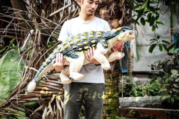 Custom Cutest Green Baby Ankylosaurus Puppet1 1