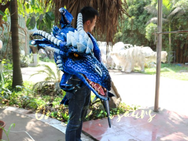 Customized-Blue-Ice-Dragon-Shoulder-Puppet6-2