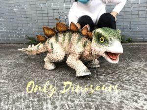 Cute Baby Dinosaur Stegosaurus Puppet 1M Long