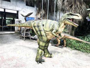 Dino Costume Green Tyrannosaurus Rex for Event