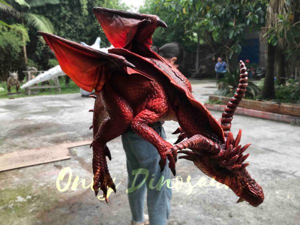 Eye-Catching-Full-Body-Puppet-Myths-Dragon-In-Red3-2