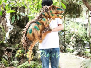 Feathered Baby Tyrannosaurus Rex Puppet for Fun