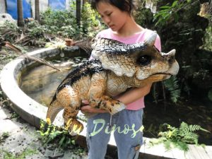 Hand Control Dinosaur Puppet Customized High Quality