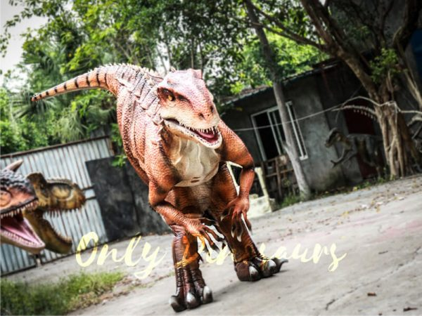 Indominus Rex Dinosaur Costumes Orange1 1