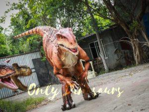 Indominus Rex Dinosaur Costumes  Orange