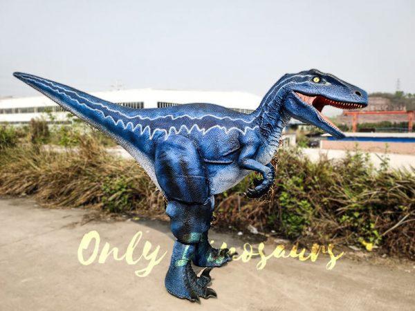 Jurassic Park Velociraptor Blue Costume in Reality6 1