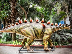 Life Size Animatronic Huayangosaurus Attraction
