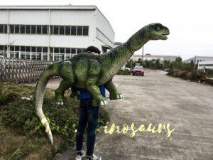 Lifelike Apatosaurus Shoulder Puppet