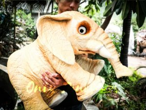 Lovely Elephant Hand Puppet for Kids