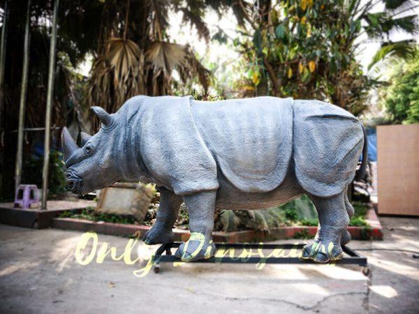 Museum Quality Realistic Animal Animatronics Rhinoceros1