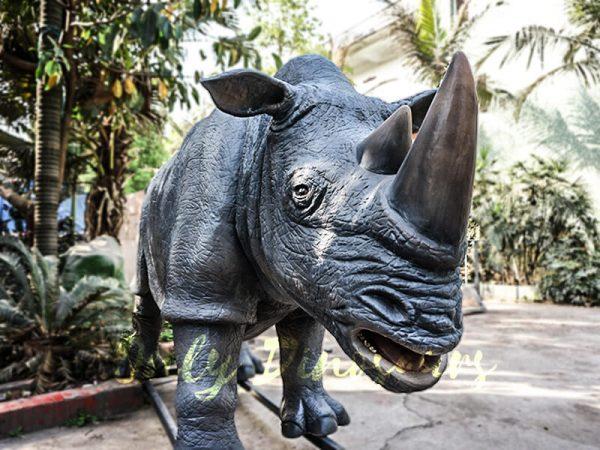 Museum Quality Realistic Animal Animatronics Rhinoceros3