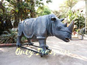 Museum Quality Realistic Animal Animatronics Rhinoceros