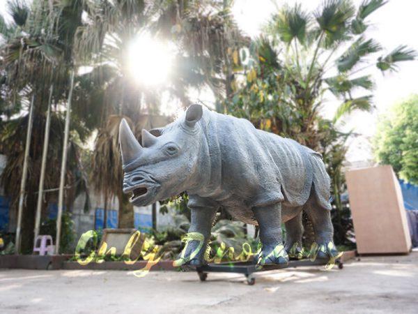 Museum Quality Realistic Animal Animatronics Rhinoceros5