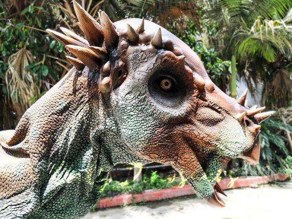 Pachycephalosaur Jurassic Park Walking Dinosaur Costume3 1