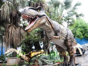 Realistic Animatronic Tyrannosaurus of Jurassic World