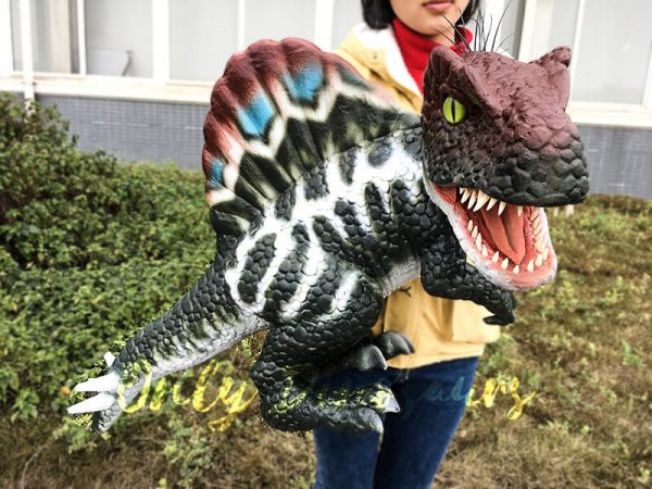 Realistic Baby Spinosaurus Puppet Colorful Hand Puppet6 1