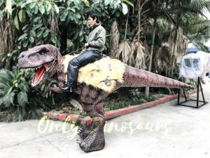 Realistic Riding T Rex Suit for Theme Park Stilt Suit