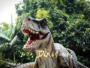 Realistic Tyrannosaurus Rex Dinosaur Costume